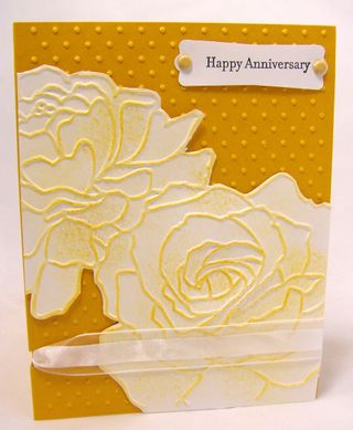 The Happy Anniversary stamp is from Teeny Tiny Wishes, and all I can say